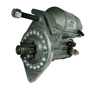 Triumph-TR3-TR4-4a-with-bolt-on-ring-gear-1-4-kw-denso-high-torque-starter-motor