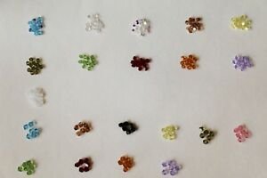 24 X Swarovski Crystal SIMPLICITY Beads #5310 4.5mm 5.5mm Many Colors 2 Sizes