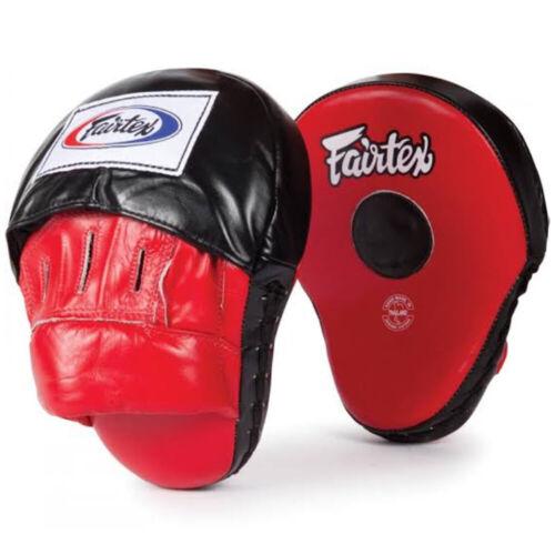 Fairtex FMV9 Ultimate Contoured Focus Mitts Punch Target Pad Muay Thai Boxing