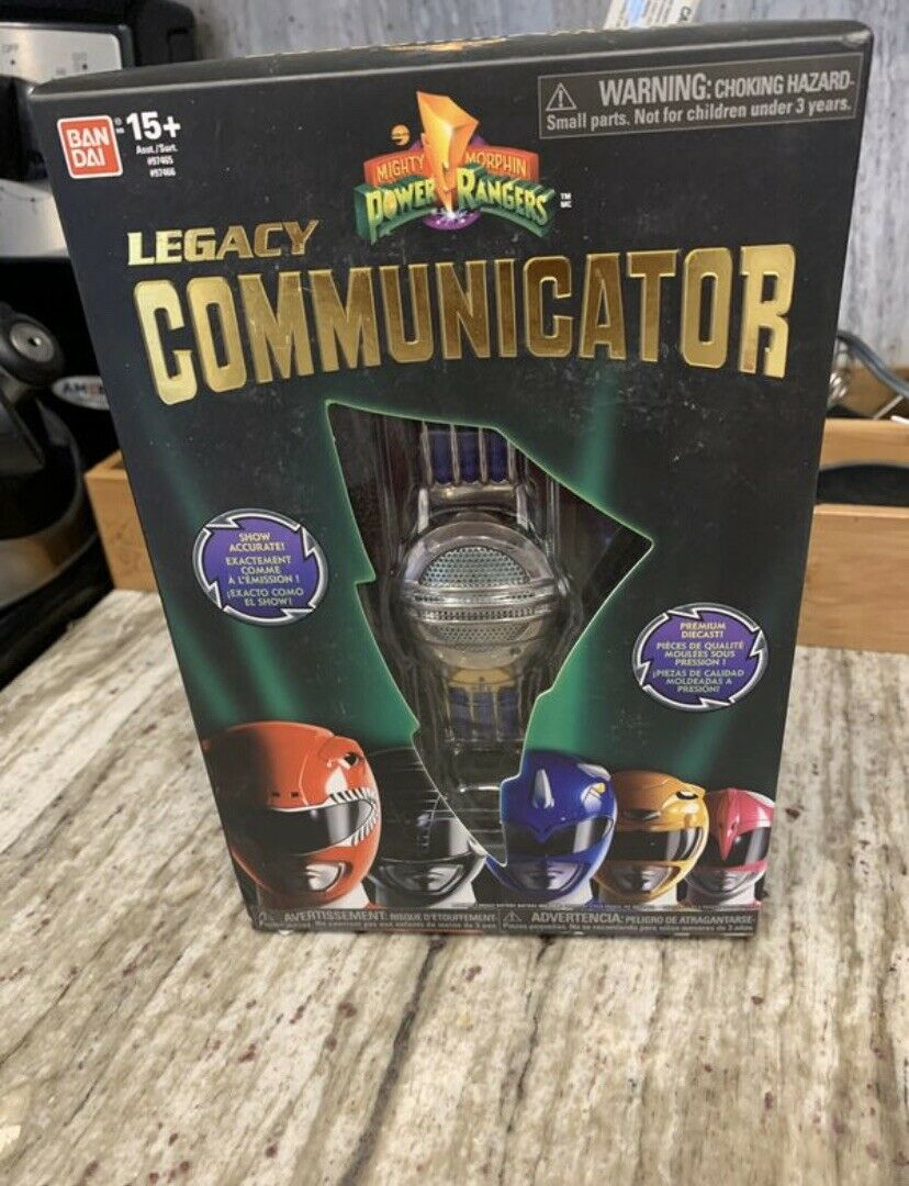 Mighty Morphin Power Rangers Legacy Communicator Opened Complete MMPR rare