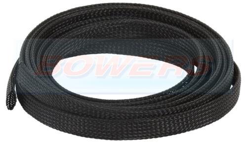 Expandible Trenzado De Envolver 3-9 mm 10 m Rollo Carrete para manguera rango o cable