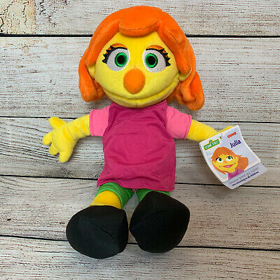 "Sesame Street Gund Julia 14/"""