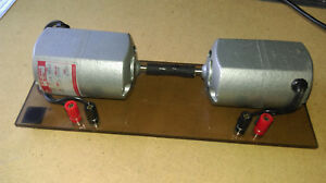 Details about Lab Homeschool: Motor / Generator experiment - 2ea DAYTON  2M033A AC/DC