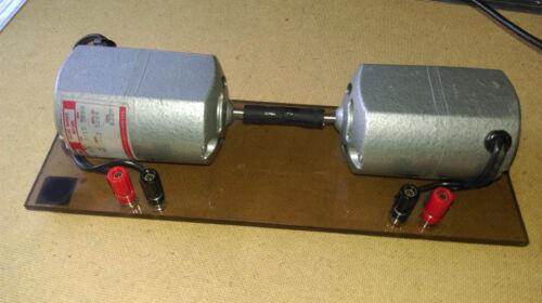 2ea DAYTON 2M033A Universal AC/DC Motors, 1/15hp, 5000RPM 115V - Lab Homeschool