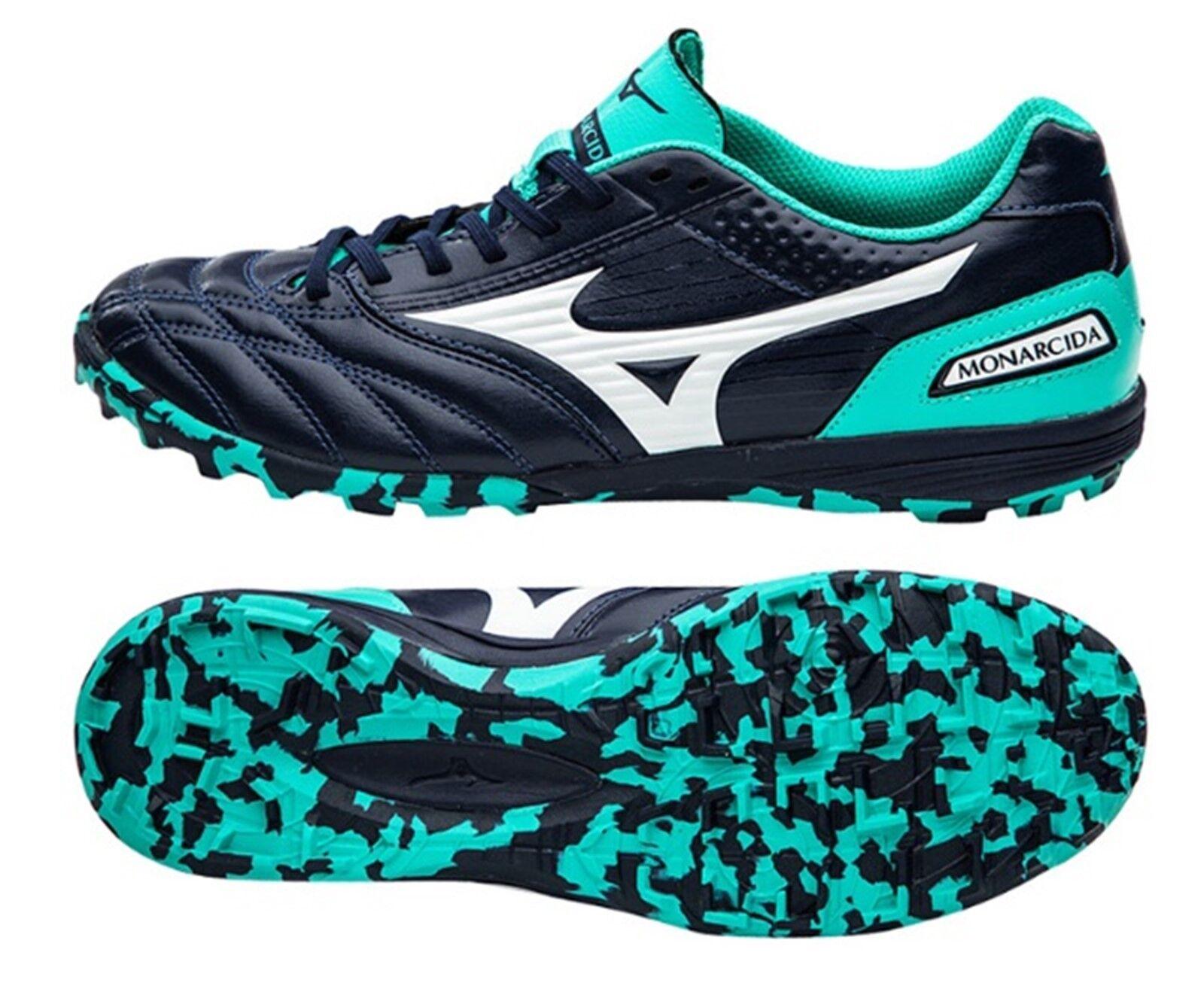Mizuno Hombre Botines De HORQUILLA roscada monarcida Zapatos De Futsal Fútbol Azul Marino Bota Spike Q1GB181101