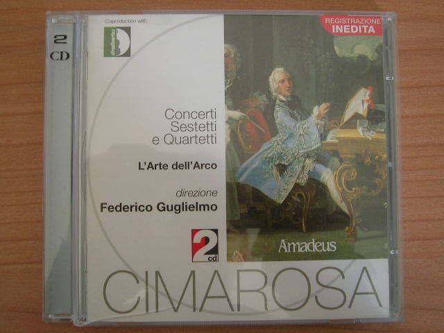 2 CD Federico Guglielmo L'arte dell'Arco