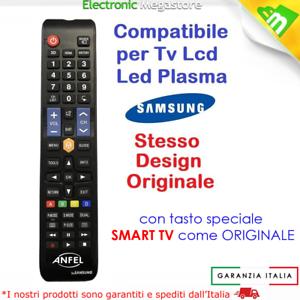 Telecomando universale per tutti i TV SAMSUNG Lcd Led Smart TV 3D come Originale
