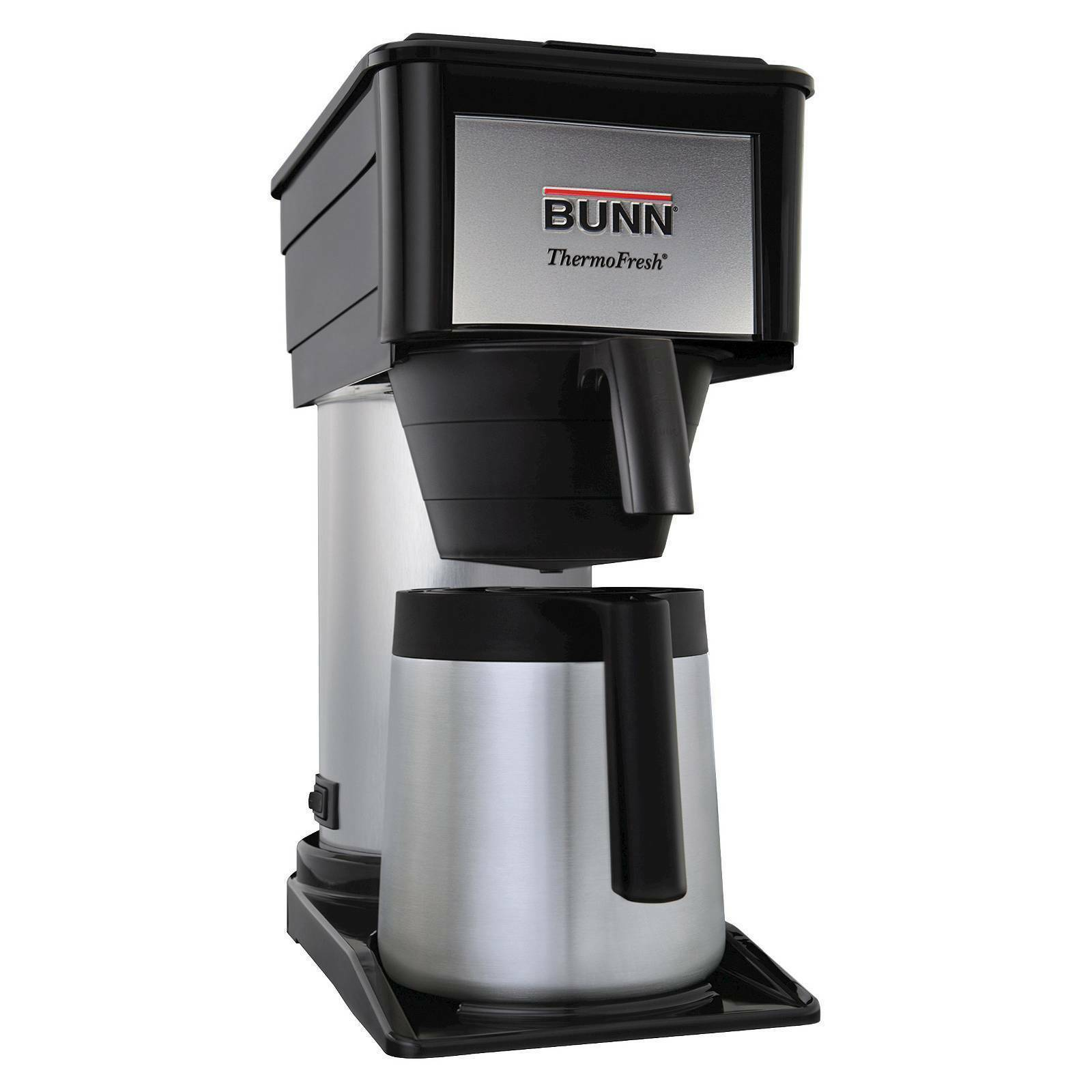 Bunn BTX-B ThermoFresh 10 tasses Brewing système-noir