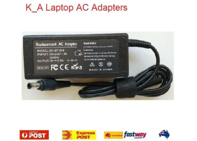 Quality 19V 3.16A Charger for Samsung AD-6019R ADP60ZH-D CPA09-004A PSCV600/04A