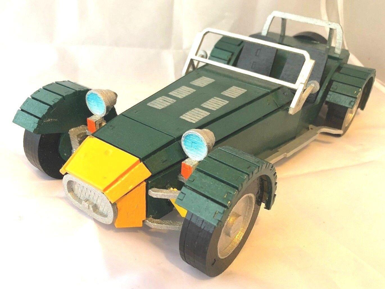 Laser cut ply wood wooden Lotus Seven 7 model 3d puzzle   Kit