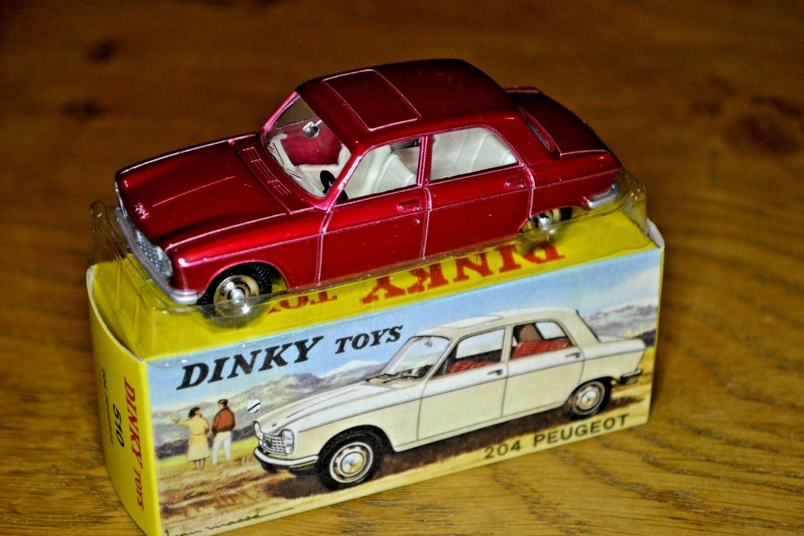 2014 French Dinky Toys Atlas Edition Diecast 204 Peugeot