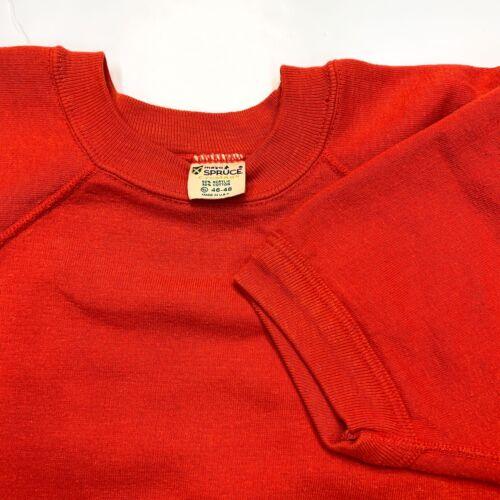 Vintage Mayo Spruce Creslan Sweatshirt Short Sleev
