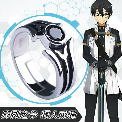 Kantai Collection cosplay Anime 925 Sterling Silver Adjustable Ring Gift