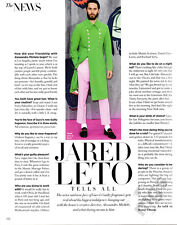 Jared Leto 1-page clipping 2016 ...Tells All