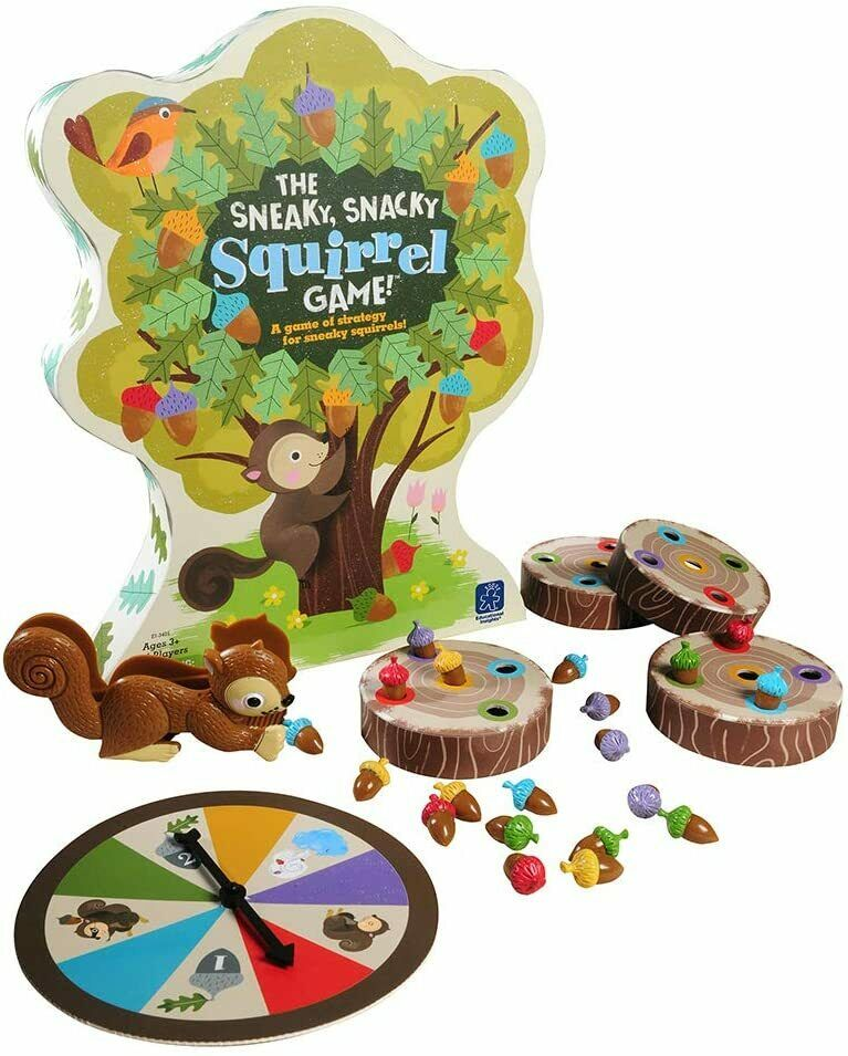 Educational Insights The Sneaky, Snacky Squirrel Toddler & Preschool Board Game 4