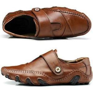 Herren Halbschuhe Sneakers Fahren Mokassins Flache Slip auf Außen Freizeit Faul