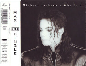 CD-MAXI-SINGLE-MICHAEL-JACKSON-WHO-IS-IT-COLLECTOR-RARE-TRES-BON-ETAT-1992