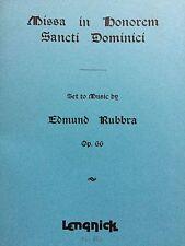 Edmund Rubbra-Missa in honorem Sancti Dominici op.66