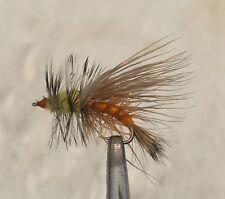 Orange Attractor Stimulator Fly Size 8-1 Dozen Dry Trout Flies F771