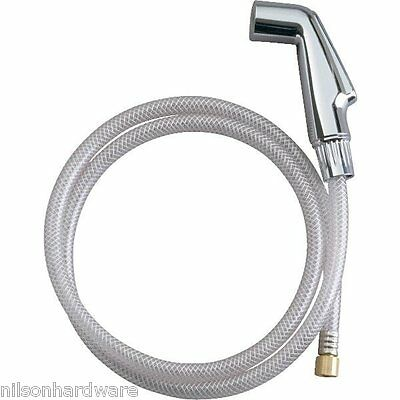Kohler Chrome Side Sprayer With Hose For Kitchen Faucet 650531630735 Ebay