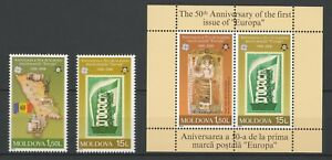Moldova-2005-CEPT-50th-Anniversary-of-the-First-EUROPA-2-MNH-Stamps-S-S