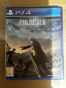 Final Fantasy XV 15 PS4 comme neuf (sans rayure) complet VF