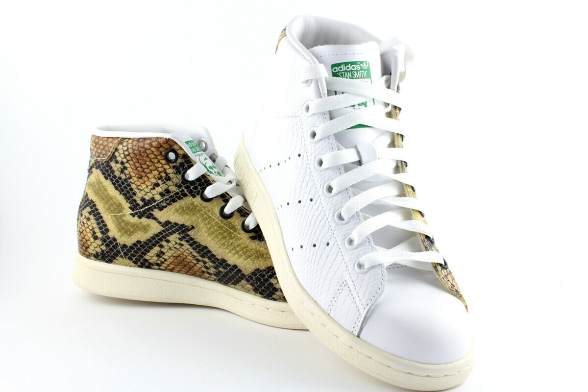 Adidas Originals Stan Smith Mid Sneaker Special Edition Snake Schlange S77451