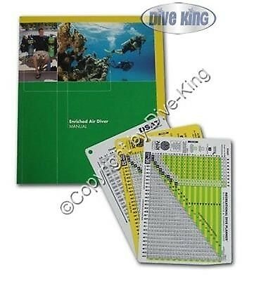 EAN Nitrox Diver mit Tabellen PADI Manual 2018 71153G