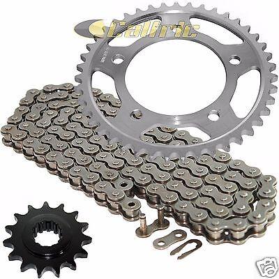 1991-1996 Honda CBR600F2 CBR600F3 O-Ring Chain and Sprocket Kit Nickel