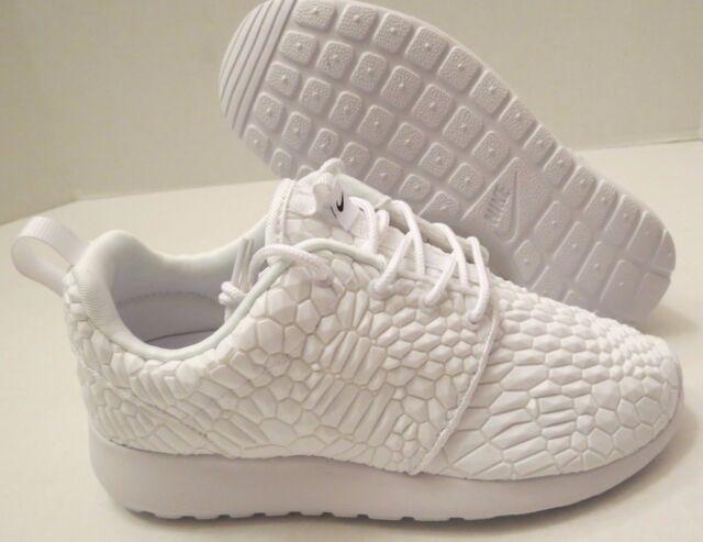 100% authentic bd2da f44b7 Nike Roshe One DMB Diamondback QS Moon Landing White 824286-100 WMNS Size 5