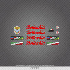 0669 Bottecchia Professional Bicycle Stickers - Decals - Transfers - Red Text