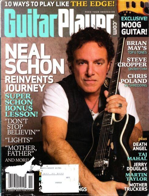 Guitar Player Magazine November 2008 Neal Schon Journey, The Edge, Brian May
