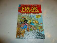 FABULOUS FURRY FREAK BROTHERS Comic - No 8 - Date 1984 - Ripp Off Press