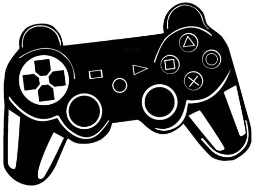 PS Gaming Gamepad Pad Game Children/'s Bedroom Decal Wall Art Sticker Picture
