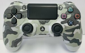 Gray Camouflage Wireless Controller DualShock 4 for Sony PlayStation 4