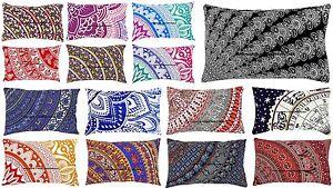 Indian-Ombre-Mandala-Meditation-Ethnic-Cushion-Cover-Cotton-Pillow-Case-Sham