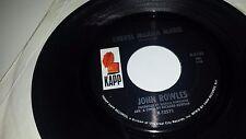 """JOHN ROWLES The Love I Had With You / Cheryl Moana Marie KAPP 2102 45 7"""""""