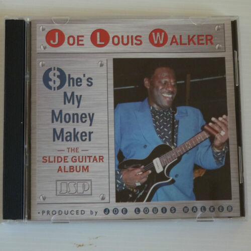 1 of 1 - Joe Louis Walker - She's My Money Maker - Slide Guitar CD Album