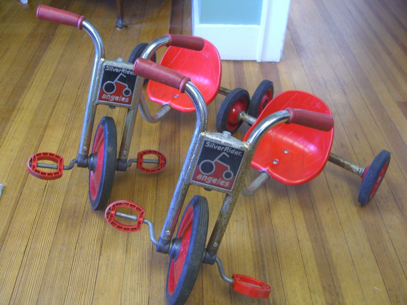 Vintage Plata Rider Angeles Triciclo ( We Have (2) Venta por Separado)