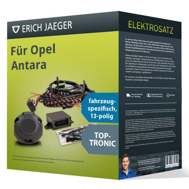 Elektrosatz 7-pol spezifisch OPEL Antara 05.2006-04.2011 ABE Erich Jaeger