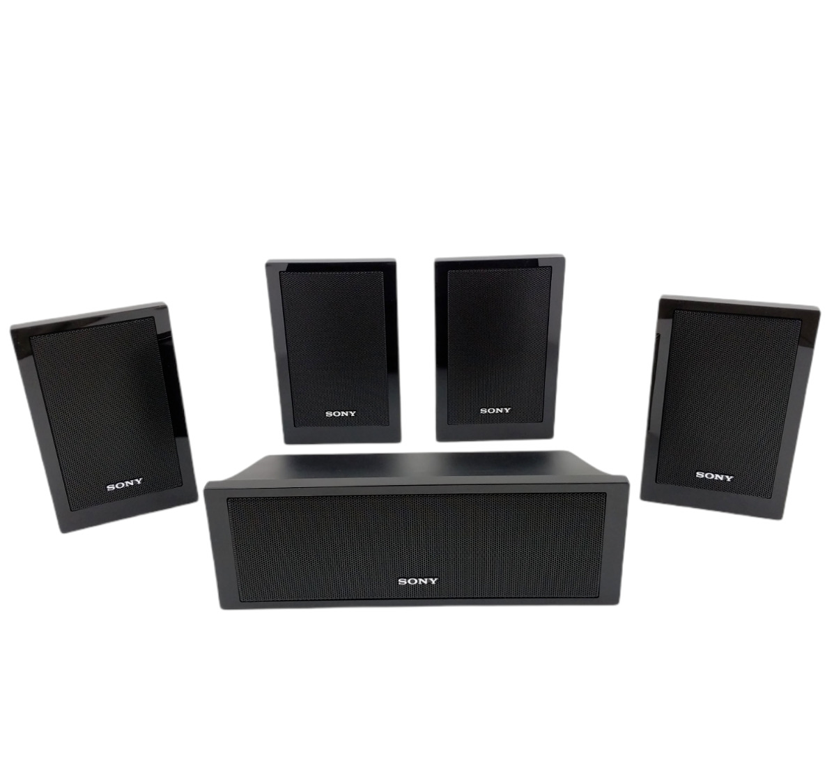 Set Of 5 Sony Surround Sound Speaker System SS-CT101 Center / SS-TS102 (4). Buy it now for 69.95