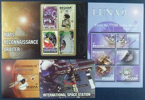 Saint-Vincent-vetustes-2006-spatiale-Space-Espace-Espace-511-20-Bloc-42-43-Neuf-sans-charniere