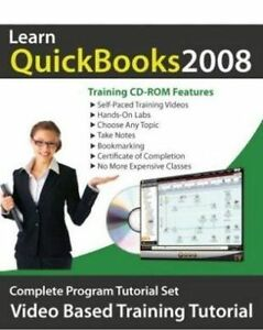 Learn QUICKBOOKS 2008   Software Video Training Tutorial   Brand New Sealed