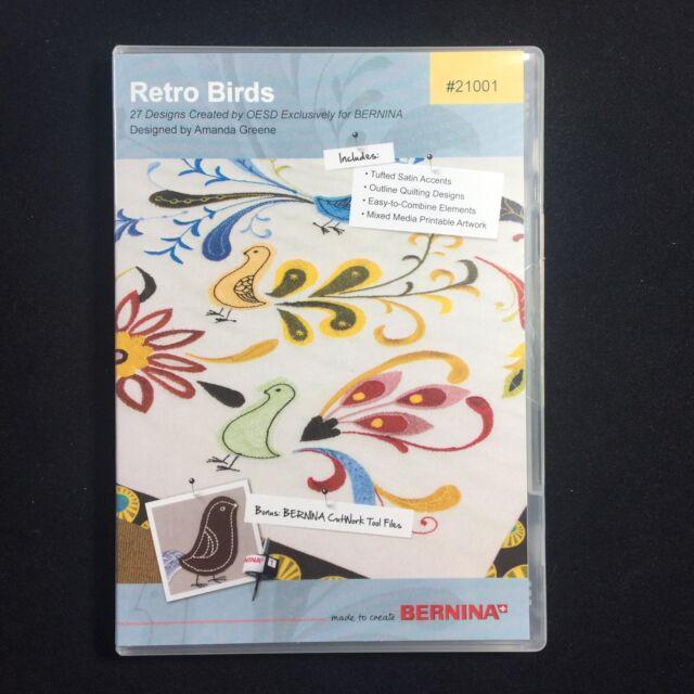 NEW OESD Embroidery Machine Designs CD MAJESTIC ANIMALS Crafts