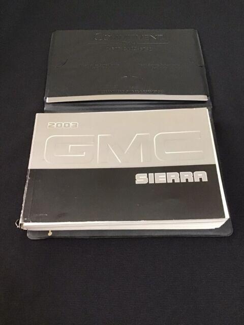 Gm 2003 Manual Guide