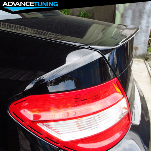 08-14 Mercedes-Benz C-Class W204 4Dr AMG Style Unpainted ABS Trunk Spoiler