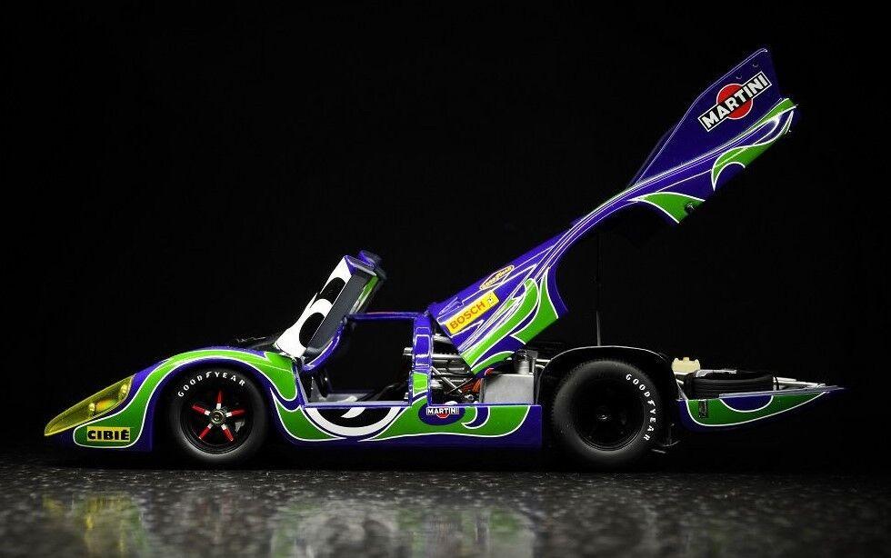 Porsche  GT 1 exótico Sport auto concepto de carreras vintage 18 carrera Carrusel Azul