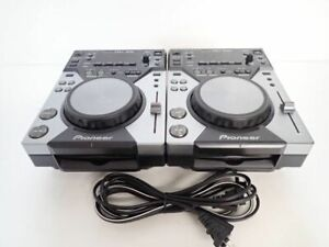 Pioneer CDJ-400 Paire 2 Set CD Digital Media Player DJ en très bon état