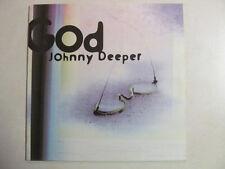 "JOHNNY DEEPER GOD 12"" SINGLE ELECTRONIC HARD TRANCE BEATLES LENNON COVER RARE"