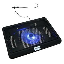 KKmoon Silent Thin PC Cooling Frame USB Cooler Radiator with Blue LED Light